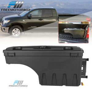Fits 07 19 Toyota Tundra Abs Truck Bed Storage Box Toolbox Passenger Side