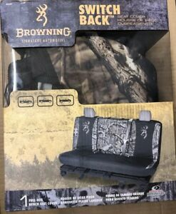 Browning Mossy Oak Camo Full Bench Seat Cover