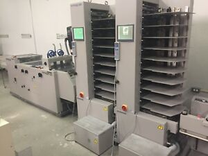 Horizon Vac100 A C Twin Tower Collator Booklet Maker Low Usage Clean Duplo