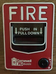 Fci Gamewell Ms 7af Fire Alarm Pull Station Addressable Dual Action