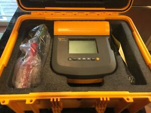 Fluke 1555 Insulation Resistance Tester Up To 10kv In Hard Case Still New