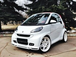 Smart Fortwo 451 Wide Body Kit Fits For Passion Pulse Pure Brabus Etc