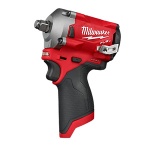 Milwaukee Mlw2555 20 Fuel Stubby 1 2 Inch Impact Wrench Bare Tool