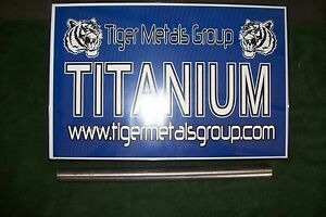 Grade 5 6al 4v Titanium Round Bar 875 Diameter X 33 25 Length 79 As