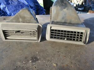 65 Plymouth Belvedere Ii Satellite Dash Top A C Air Conditioning Vents Oem Pair