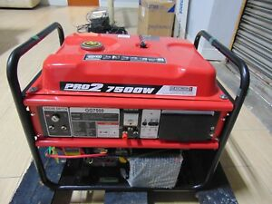 Brand New Gentron Gg 7500 electric Start Big 420cc Gas Motor Wheels Included