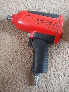 Gently Used Snap On Mg725 Red 1 2 Drive Impact Wrench Gun With Cover