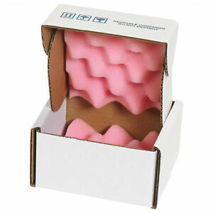 5 X 5 X 3 Anti static Foam Shippers 24 Pack Lot Of 1