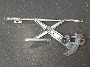 89 91 Honda Crx Passenger s Window Regulator Oem Crank Right Glass Roll Up Door