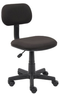 Boss Office Products B205 bk Fabric Steno Chair In Black