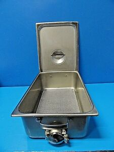 Polar Ware T304 Stainless Steel Medical Instrument Drainage Tray Large 17197