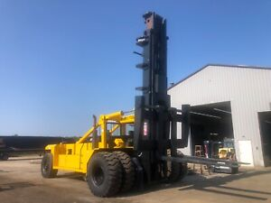 Taylor Forklift 110 000lb Capacity With 10 Forks