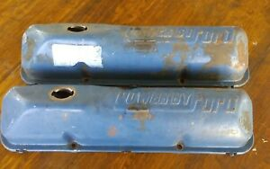 1965 Ford Thunderbird 390 428 Engine Valve Covers
