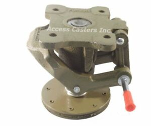 Ac 2727 4 Cast Iron Floor Lock Foot Operated 3 11 16 X 5 3 8 Top Plate