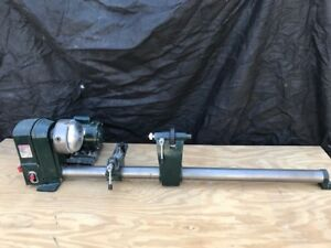 Central Machinery 5 Speed Wood Lathe Used Condition