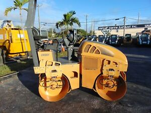 2010 Case Dv 201 Double Smooth 39 Drum Roller static Vibratory Compactor