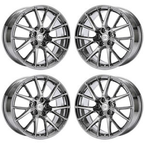 19 Infiniti G37 Q60 Pvd Chrome Wheels Rims Factory Oem 73743 Exchange