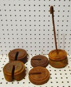 Vintage Cast Iron Fairbanks Platform Scale Weight S And Hanger