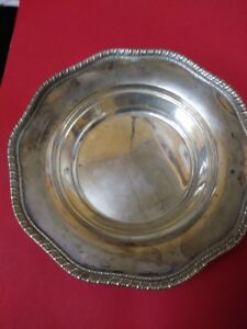Vintage Sterling Silver Frank M Whiting Nut Bowl Candy Dish
