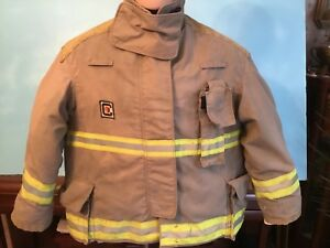 1 Chieftain Firefighter Turnout Coat Regular Size Xl With Liner 30mxz