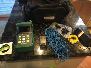 Greenlee 920xc 30f Triple Filt Otdr Fiber Tool With Accessories