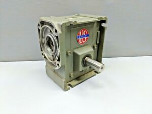 U S Motors Torqube Gear Reduction Box Gearbox 30 1 Ratio right Angle Worn g33