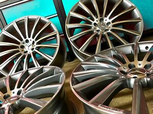 18 Inch Mercedes Sl63 Rims Wheels Set4 New 18 8 5 18 9 5 Sl550 Sl500 Sl55 Sl Amg