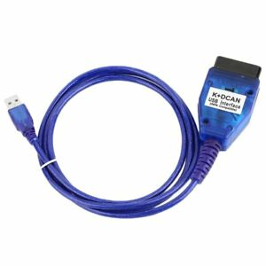 Practical K dcan Usb Interface Chip Scan Reader Diagnostic Cable For Bmw 20pin