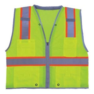 Imperial 11k779 High Visibility Traffic Vest 3xl