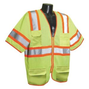 Imperial 926085 5 High Visibility Traffic Vest Xl