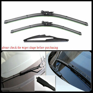 For Mercedes Benz Gl320 Ml350 R350 Front Rear Windshield Wiper Blades