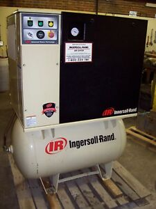 Ingersoll Rand 10 Hp Model Up6 10 125 Air Compressor