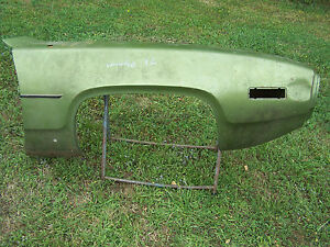 Mopar 71 Plymouth Right Front Fender Road Runner Gtx Satellite Sebring 1971