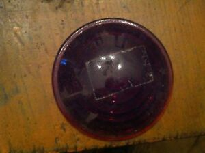 Bb 6 Antique Car Ford Red 3 5 Inch Light Round Concave Lens