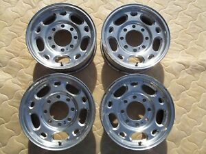 Chevy Gmc 2500hd 3500 Express 16 Wheels Factory Corrosion Rims 8x6 5 9594142