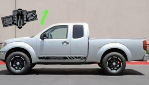Graphic Decal Sticker Vinyl Door Kit For Nissan Frontier Navara 2012 2014 2016