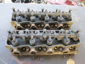 64 65 66 67 Plymouth Belvedere Ii Satellite Poly 318 Heads W Rockers Oem Pair