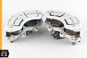 07 13 Mercedes W216 Cl65 S63 Amg Front Left And Right Brake Caliper Set Oem