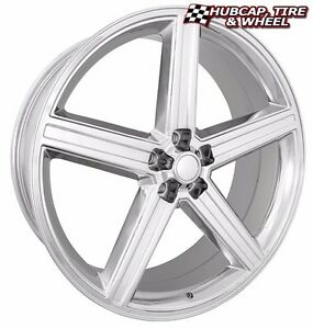 Sik 051 Iroc Chrome 20 x8 5 Custom Wheels set Of 4 Fwd rwd 20 Inch Rims New