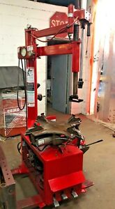 Coats 7065ex Rim Clamp Tire Wheel Changer With Low Profile Assist Arm 202