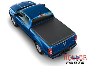 2019 Ford Ranger Oem Soft Folding Over Bed Rail Tonneau Bed Cover 5 Ft Bed