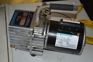 Marathon Electric Part No 10215 133 Ph 1 J b Dv 200n 7cfm Vacuum Pump