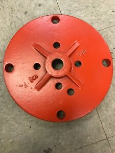 Post Indicator Plate For 6 Mueller Gate Valve A 2360 Resilient Wedge