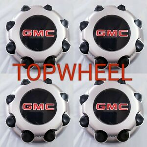 Gmc Sierra Yukon Van 1500 2500 3500 16 Wheel Center Caps Hub 8 Lug 4 Pcs Cap