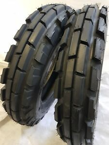 2 Tires 2 Tubes 6 50 16 8 Ply Knk33 3 rib Farm Tractor Tires W tube 6 50x16