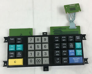 Royal 210dx Electronic Cash Register Key Pad Circuit Board Replacement Pre own