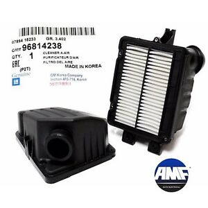 New Oem Genuine Fits 04 08 Chevrolet Aveo Air Cleaner Filter Box Oem 96814238