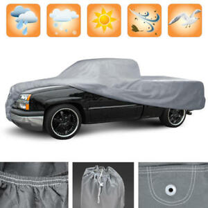 Truck Cover Fits Chevy Silverado Series 2001 To 2019 Crew Cab Indoor Semi Custom