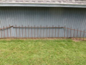 Antique Wrought Iron Fence 24