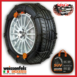 Weissenfels Todoterreno Rts Clack Go Chain Snow Unit 4 1 3cm 225 45r17 M S